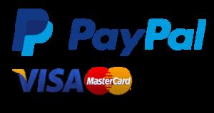 Visa / Mastercart / Paypal